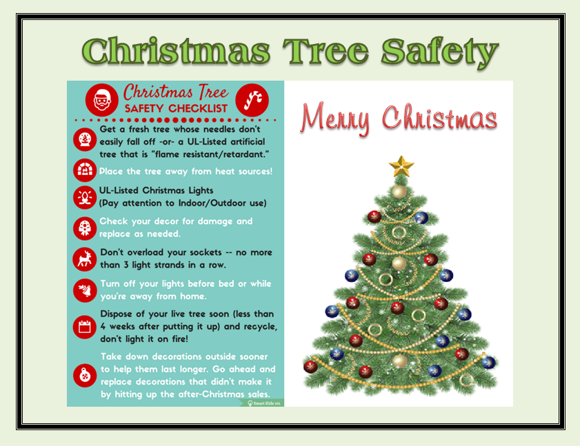 Christmas Tree Safety  sc 1 st  Franklin County EMA & Christmas Tree Safety u2013 Franklin County EMA